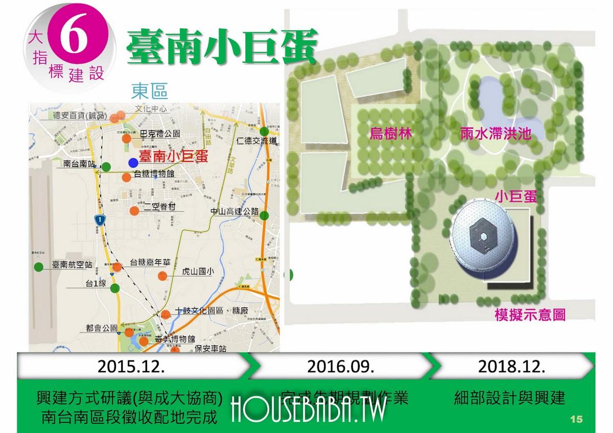 南市6大指標建設-台南小巨蛋