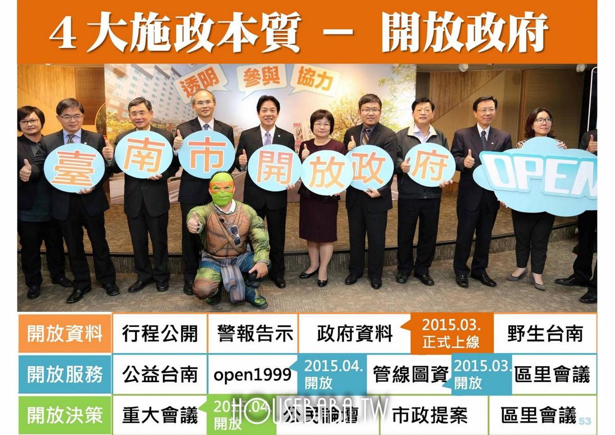 台南賴清德施政計畫 (49 - 56)