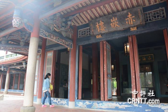 今年一月以來,台南古蹟景點陸客人數跌兩成。(中評社 趙家麟攝)