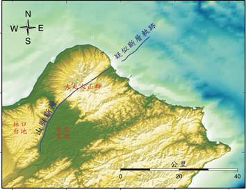 ▼台北山腳斷層。(圖/翻攝自經濟部中央地質調查所)