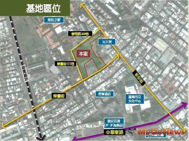 台南大面積地上權招商 預計帶動東區發展