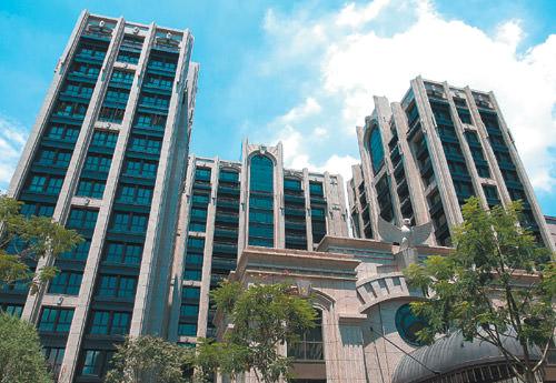 台北市指標豪宅「皇翔御琚」外觀。 記者王騰毅/攝影
