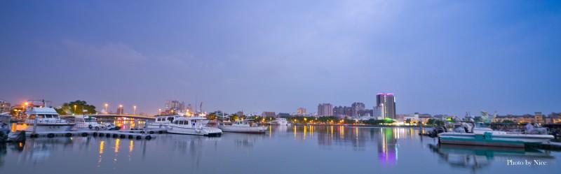 台南安平區漁人碼頭&林默娘公園一景(攝:廖家成)