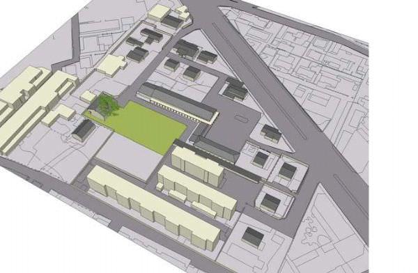 永康市台鐵二側都市再生計畫案 飛雁新村都市更新案