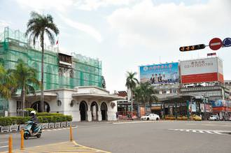 為了規劃台南鐵路地下化後釋出的土地,台南市政府去年舉辦國際徵圖,由西班牙團隊獲得冠軍。 記者莊宗勳/攝影