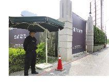 嚴密的監控與工地安全管理,每位保全特勤人員身高都具備180cm以上。