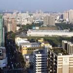 大順路好市多一旁正是義聯集團投資200億開發飯店與百貨的地點。