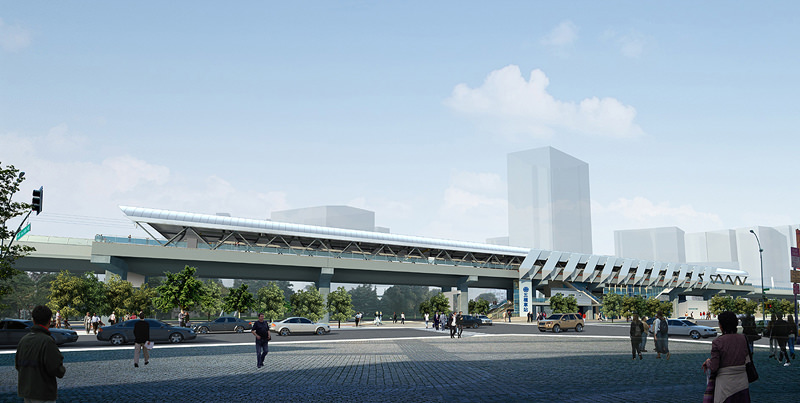 高架單軌 台南「捷運」四年內啟動
