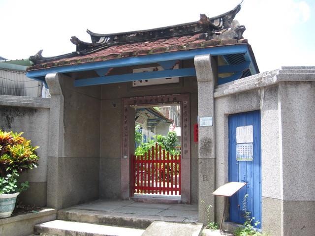 陳世興古宅位於赤崁文化區旁。翻攝維基百科