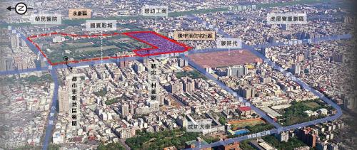 結合周邊商業區與平實營區整體規劃,發展東區副都心之特色住商綜合環境