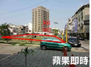 今日標脫的土地為台南市中西區衛民街近西華南街的商業用地。國有財產署提供