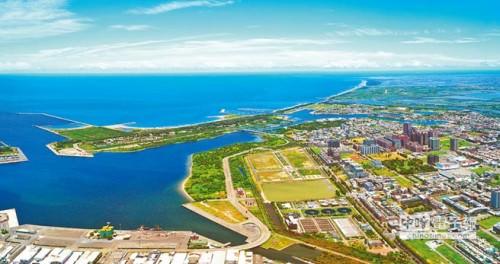 位於台南安平港附近的國平重劃區,除了原有的大地主南紡之外,幾乎都成為高雄建商的天下。圖/泰嘉開發提供