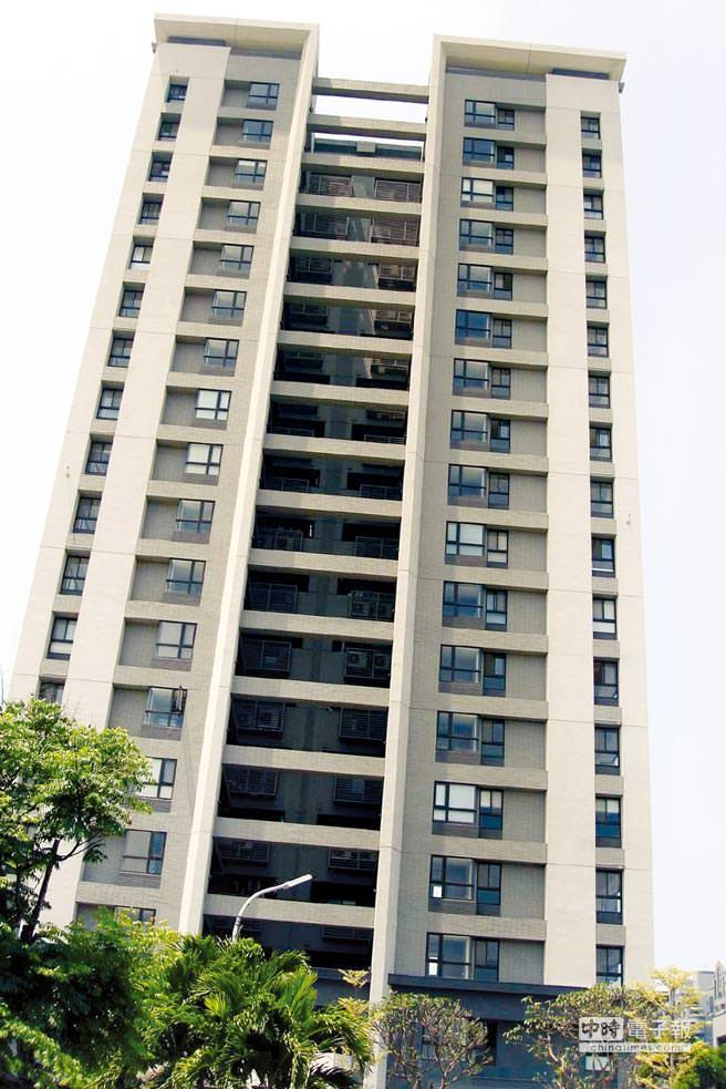 台南二線區域抬頭 大樓激增