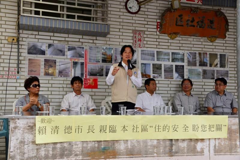 賴市長指示市府相關單位全力協助二期國宅的住戶