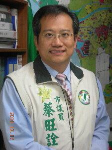 前民進黨台南市黨部主委蔡旺詮表示,安平港被列入自由貿易港,台南一定要把握機會,再創安平港百年風華,絕不能再「等」下去。(記者姚正玉攝)