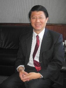 國民黨台南市黨部主委謝龍介指出,台南應該掌握安平港設立自由經濟示範區的契機進一步發展,能否成功端視市府配合與否。(記者姚正玉攝)