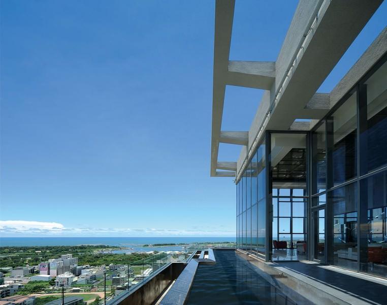 恆聚建設「水雲間」空中會館。