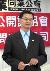 台南市府觀光旅遊局長陳俊安。(記者羅玉如攝)