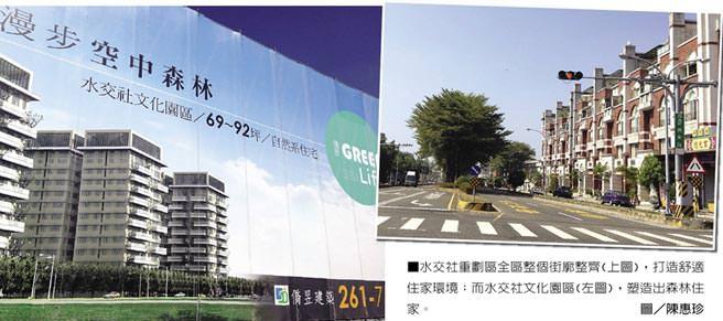 台南水交社重劃區 建案齊發