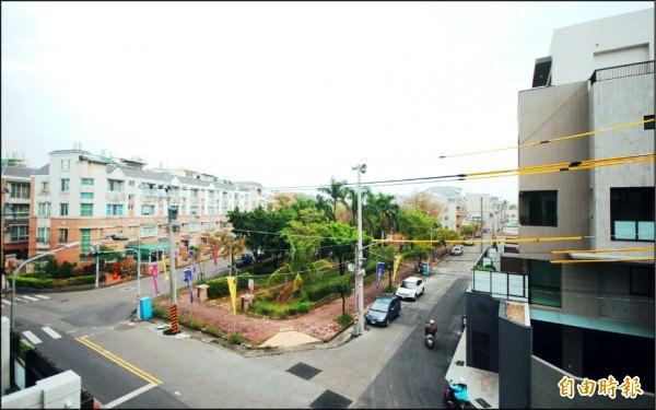 台南市新東區生活圈,坐擁成熟商圈、快速路網與綠地環境優勢,刺激透天住宅市場蓬勃成長。(記者林耀文攝)