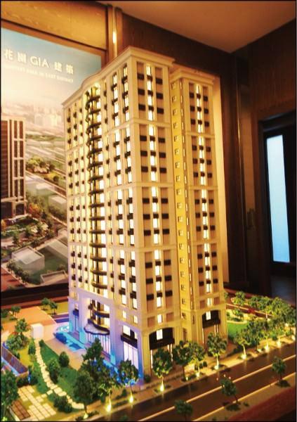 台南市東區的高質感換屋大樓,供給量體稀有,受到多金換屋客歡迎。