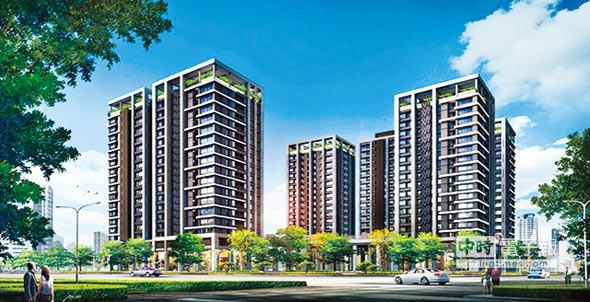興富發建設大樓預售案「真愛」位於中華路上,標榜近大橋車站。圖/陳惠珍
