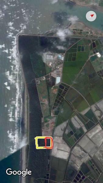 台南市政府澄清,城西第4期垃圾掩埋場與四草綠色隧道相距甚遠,且已減低一半開發面積減少衝擊,未來垃圾飽和後同樣會種植防風林復育。(台南市環保局提供)