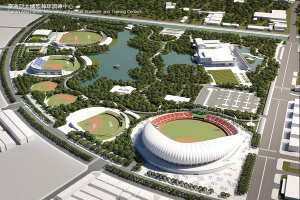 台南將蓋亞太棒球訓練中心 主球場2.5萬人採綠建築