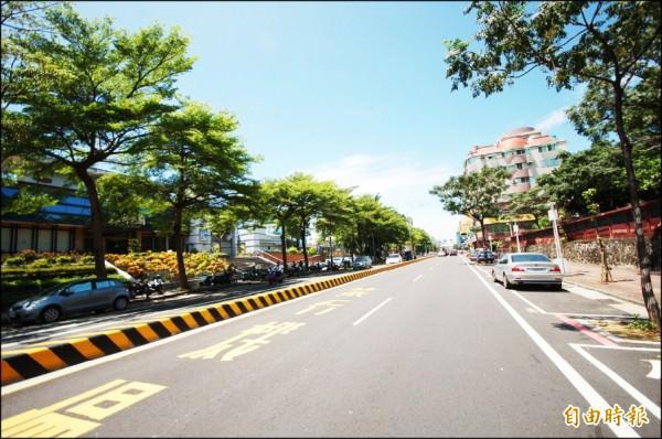 台南大學城生活圈的聯外交通順暢便利,加上生活機能充裕,吸引購屋買盤持續進場。(記者林耀文攝)