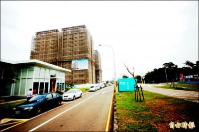 台南市南區水交社新開發區,可迅速連通南科,該區坐擁綠地、商圈與交通優勢,景觀大樓產品,也頗受南科主管客層青睞。(記者林耀文攝)