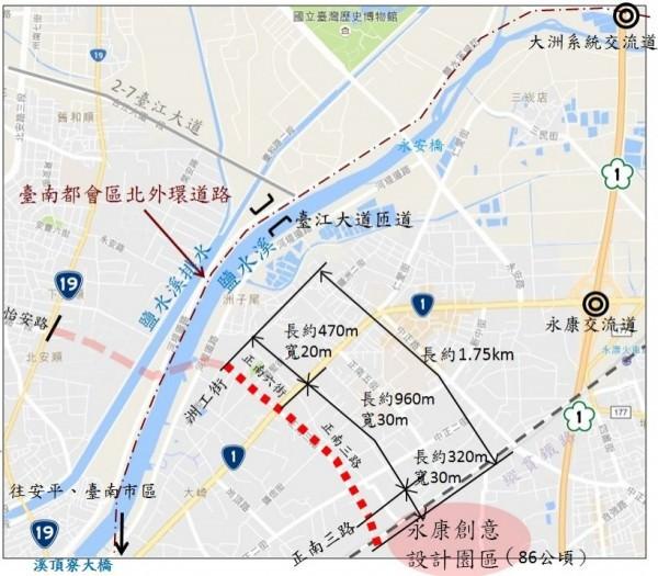 大台南路網好消息 再獲中央36億生活圈道路補助