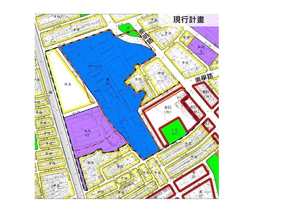 榮民之家遷建 都計變更明年啟動 原址將打通崇學路、建停車場 109年完成新榮家建築