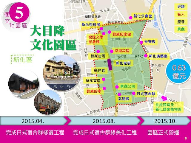南市5大前瞻基礎建設計畫-大目降文化園區 文化首都歷史風華再現