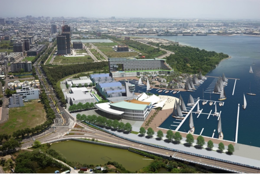 安平港遊艇碼頭投資今天簽約 明年底建置遊艇碼頭 109年完成開發