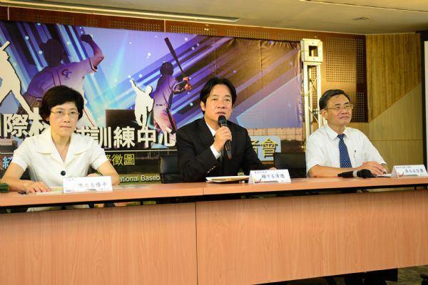 台南打造成為東方威廉波特 亞太國際棒球訓練中心統包新建工程國際徵圖活動開跑