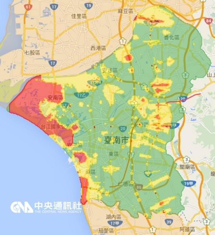 台南土壤液化區多在濱海 影響房價有限