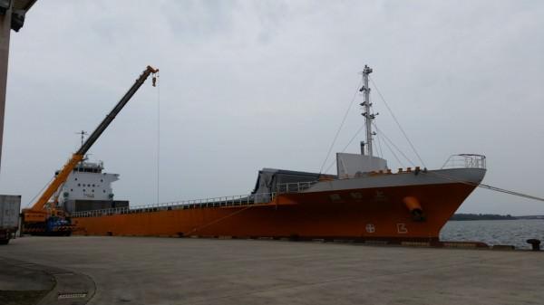 安平港定期航線啟動 提升雲嘉南產品競爭力