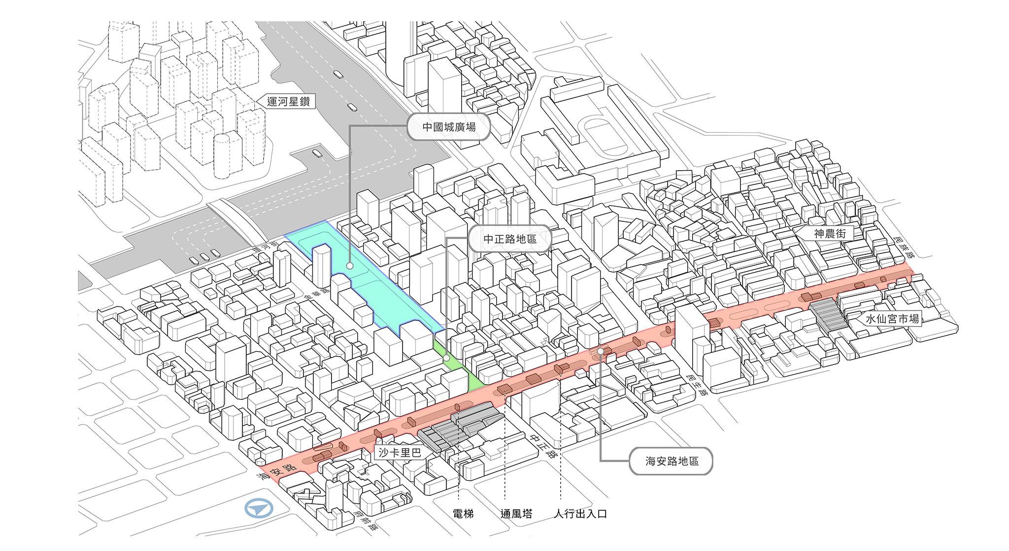 府城軸帶地景改造國際競圖 第一階段評選出爐