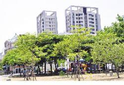 鄭子寮重劃區除交通機制極佳,中小型公園綠地林立。圖文/陳惠珍